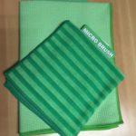 Droogdoek en schoonmaakboek